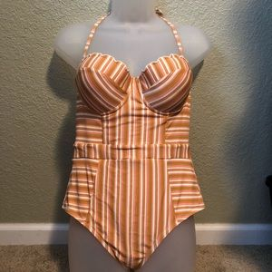 LC Lauren Conrad one-piece swimsuit - NWT